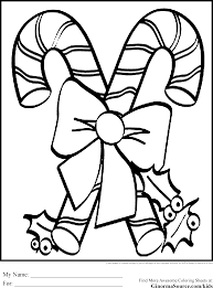 christmas coloring pages kids candy canes itgod