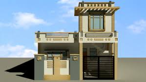 Row Houses Elevation - row house