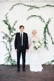 wedding photo booth backdrop diy vine wall backdrop ruffled