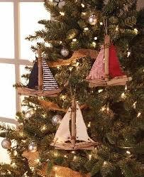 driftwood sailboat ornaments rustic driftwood and twill ornaments