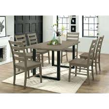 Dining Room Furniture Toronto Gray Wood Dining Table 7 Aged Grey Wood Dining Set