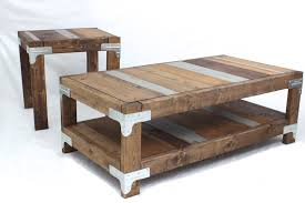 Dyi Coffee Table Diy Coffee Table And End Table By Rogue Engineer Diy Done Right