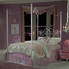 Pink Canopy Bed Standard Furniture Princess Canopy Bed In Pink Metal Beyond Stores