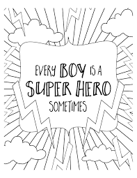 superhero coloring pages to download and print for free color