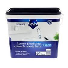 peinture cuisine salle de bain peinture cuisine et salle de bains levis expert mat blanc 2 5 l brico