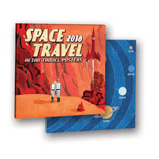 travel photo album space travel retro album wall calendar 846307030933 calendars