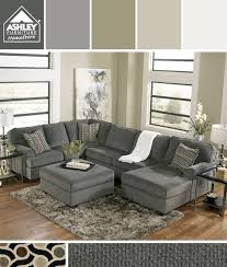 Ashley Raf Sofa Sectional Gray Earth Tones I U0027m Getting This For My Family Room Loric