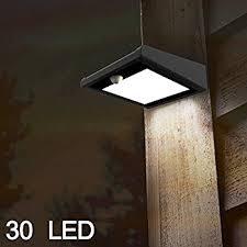 Brightest Solar Powered Landscape Lights - brightest 30 led solar light outdoor mulcolor waterproof