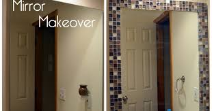 Stick On Bathroom Mirror A To Z With A J Mirror Makeover