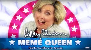 Hilary Meme - hillary clinton is meme queen 2016