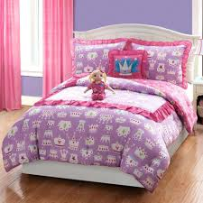 bedding design princess purple pink red single double bed