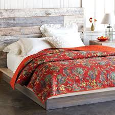 Pottery Barn Comforter Ralph Lauren Red Floral Comforter Pottery Barn Bedding Palampore