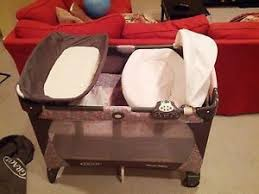 Pink And Brown Graco Pack N Play With Changing Table Graco Pack N Play 389la Bassinet Changing Station Portable Playard