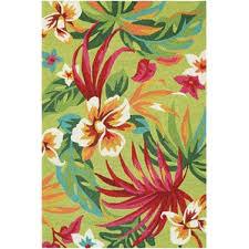 Flower Area - tropical area rugs you u0027ll love wayfair
