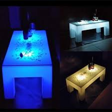 best one leg round plastic led coffee table for sale u2013 lu qing wen