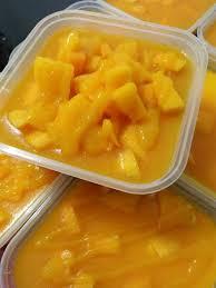 Kek Mango salam open order mango cheese cake kek keju meleleh shah