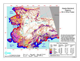 A Map Of Alaska by Download Free Alaska Wind Energy Maps