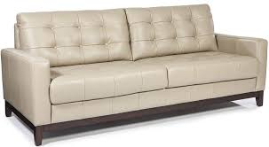 sofa taupe clayton taupe leather sofa from lazzaro coleman furniture