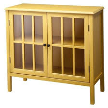 Yellow Accent Table Accent Cabinet Target