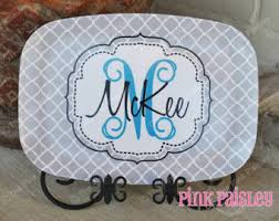 monogrammed serving platters personalized platter monogrammed platter serving platter