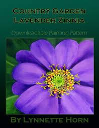 Zinnia Flower How To Paint Zinnia Flowers Acrylic Painting Pattern