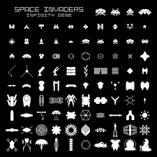 doodle galaxy invaders 13 best space invaders images on arcade machine ea