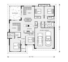 Block House Plans Wide Bay 230 Home Designs In Riverland G J Gardner Homes