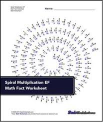 these multiplication worksheets include timed math fact drills