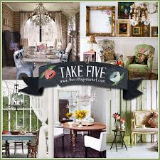 take five with vintage decor the cottage market