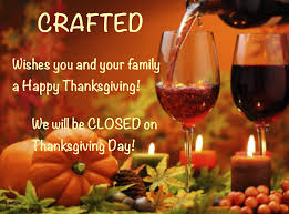we will be closed on thanksgiving day crafted u2013 page 2 u2013 the glass studio beer u0026 wine shop