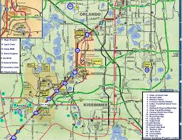 Florida Orlando Map by Orlando Maps And Location Of Homes And Villas Direction To Disney