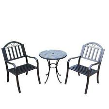Iron Bistro Chairs Cast Iron Patio Dining Furniture Patio Furniture The Home Depot