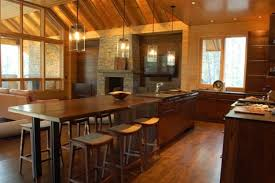 wooden kitchen island table 10 beautiful kitchen island table designs housely