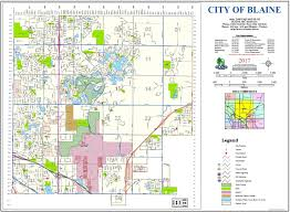 Ne Map Geographic Information Systems Gis Blaine Mn
