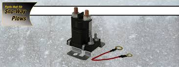 hydraulic system relay sno way snow plow parts