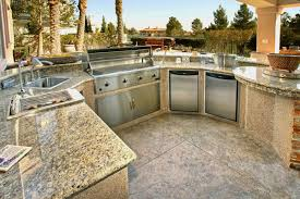 outdoor kitchen furniture granite countertops for outdoor kitchen for the big family bbq