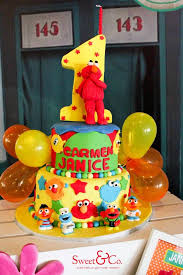 sesame birthday kara s party ideas adorable sesame themed birthday party