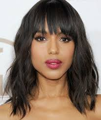 short loose wave hairstyle natural short human hair wig with bangs glueless full lace front