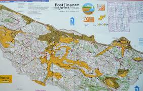 Coverage Map Sprint Eva Jurenikova Orienteering Runner And Coach
