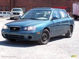 2001 hyundai elantra 2001 blue hyundai elantra gls 7481874 gtcarlot com car