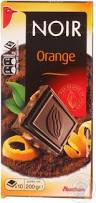 auchan dark chocolate with orange filling snacks sweets and