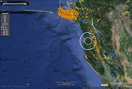 Usgs Earthquake Map California Earthquake Report Laytonville Ca Jay Patton Online