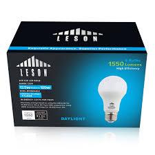 6 watt led light bulb price 100 watt equivalent leson led light bulbs e26 a19 1550lm 13w