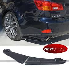lexus isf rear diffuser for is250 is350 real carbon fiber rear bumper aprons canard lip