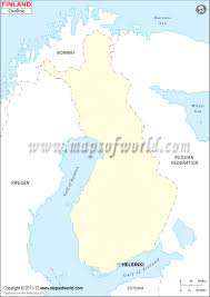 Usa Map Blank by Blank Map Of Finland Finland Outline Map