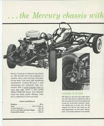 quick facts about the 1954 mercury mercury automobile history