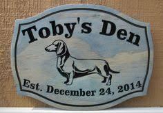 Personalized Wedding Plaque Personalized Wedding Gift Dachshund Dog Established Date Plaque
