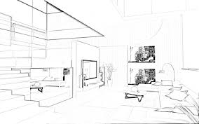 Bedroom Interior Design Sketches Architecture Free Floor Plan Software With Dining Room Home Plans