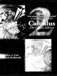calculus solutions manual 2