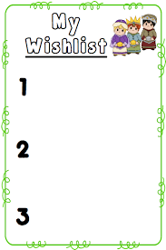 www my wish list christmas wishlist templates freebie the